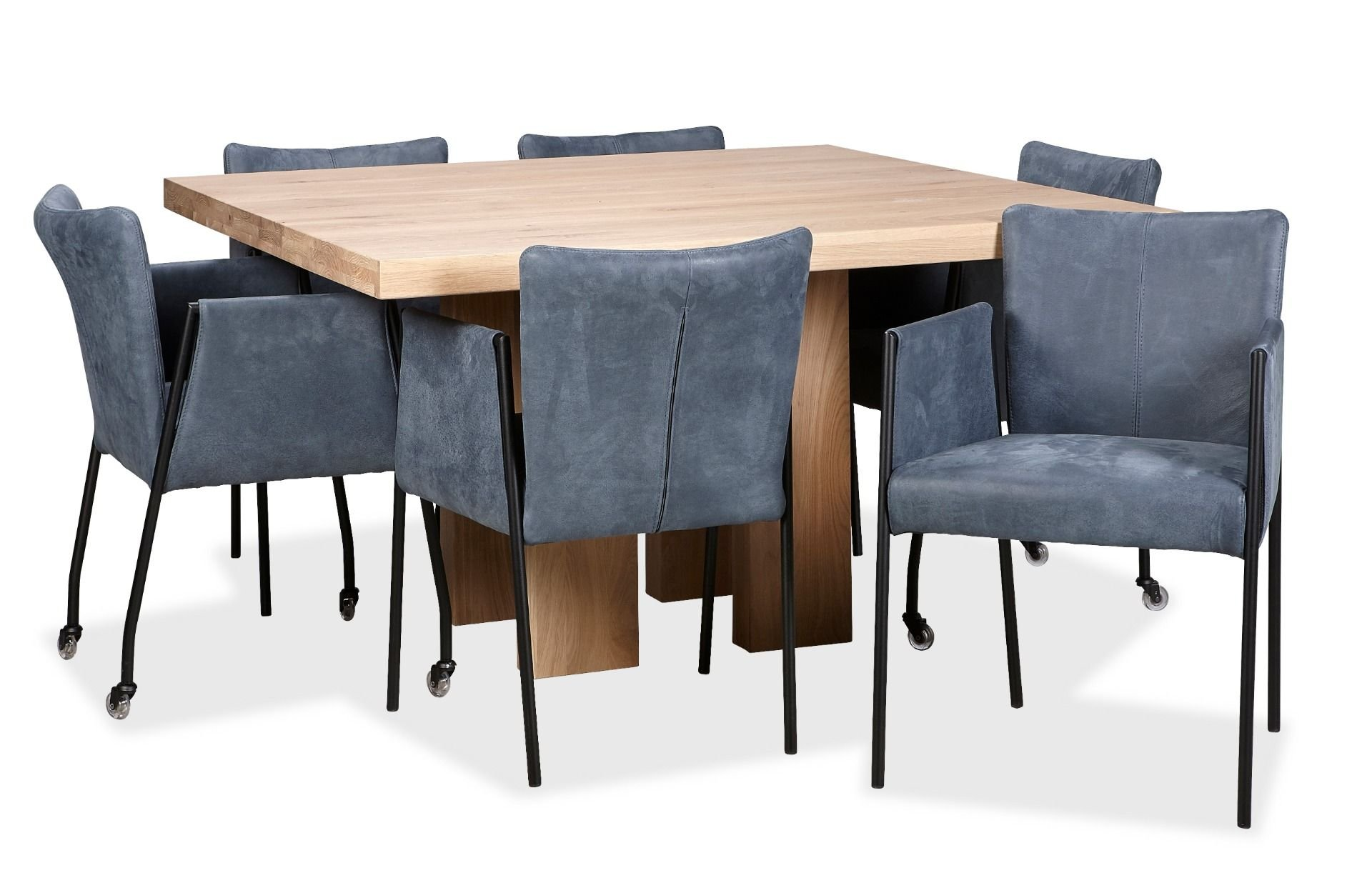 Design Vierkante Eettafel.De Beste Vierkante Ronde Of Smalle Eettafel Kiezen